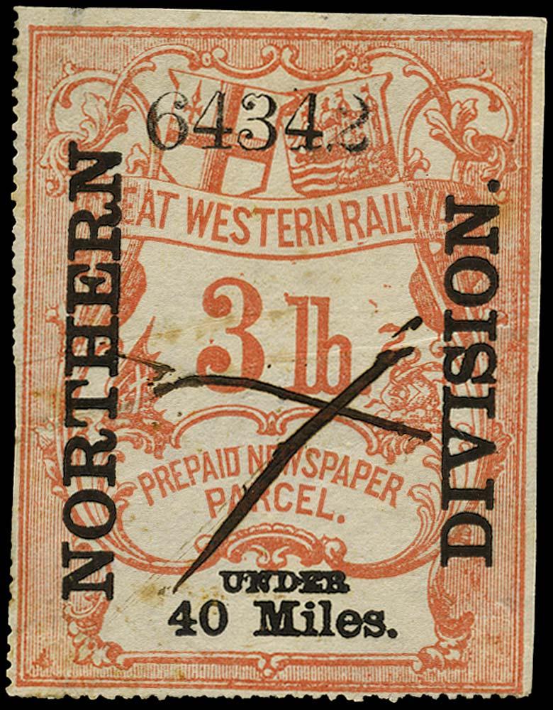 GB 1868 Railway - Great Western Railway