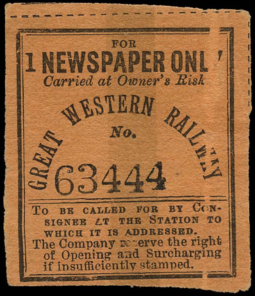GB 1900 Railway - Great Western Railway