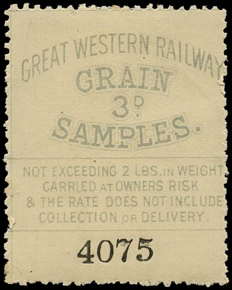GB 1870 Railway - Great Western Railway