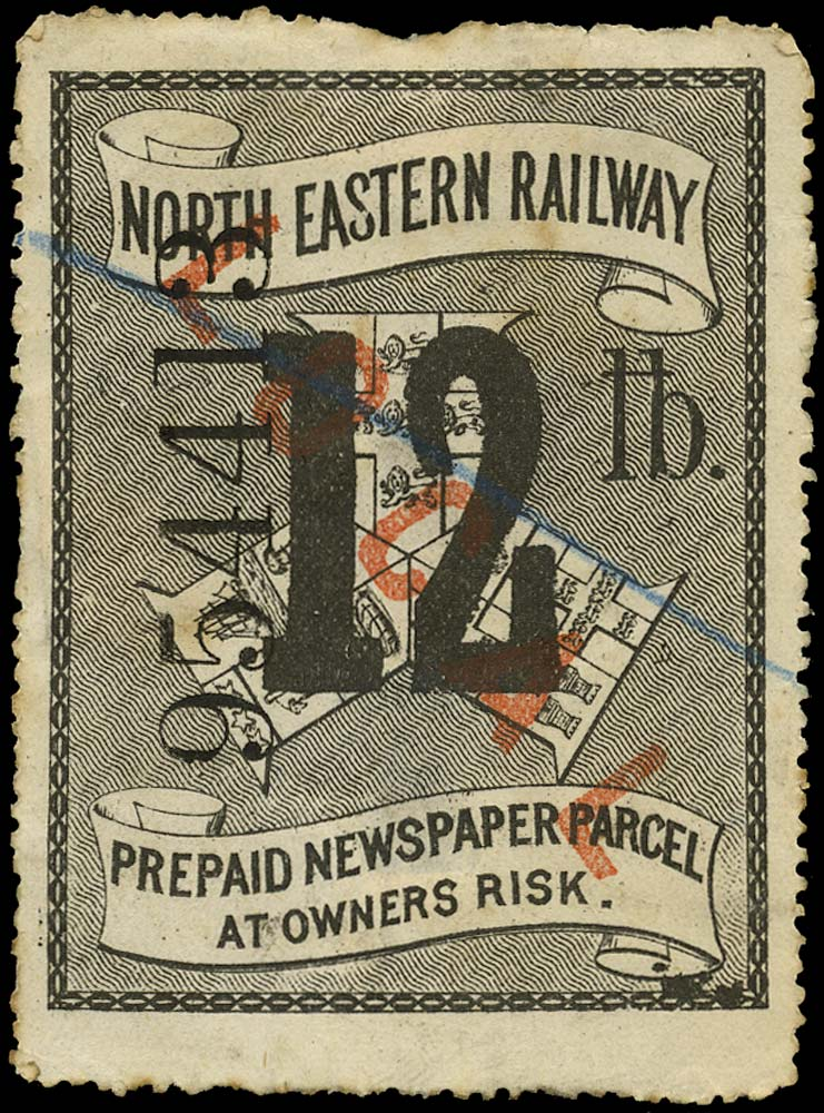 GB 1875 Railway - North Eastern Railway