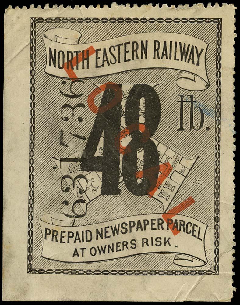 GB 1875 Railway - North Eastern Railway