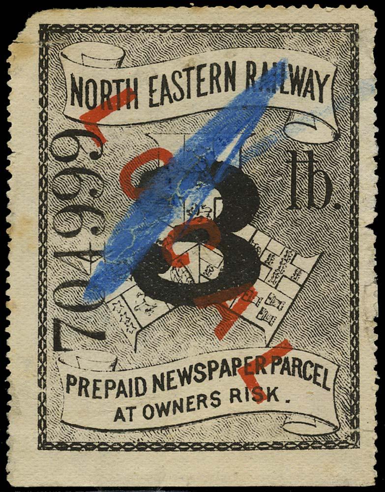 GB 1895 Railway - North Eastern Railway