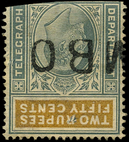 CEYLON 1905  SGT175w Telegraph