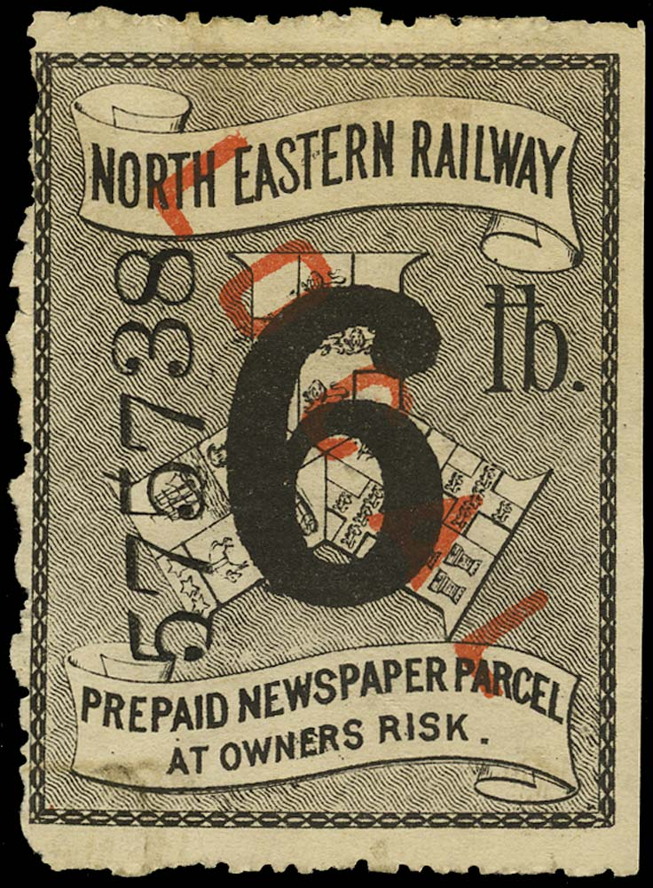 GB 1895 Railway - North Eastern Railway