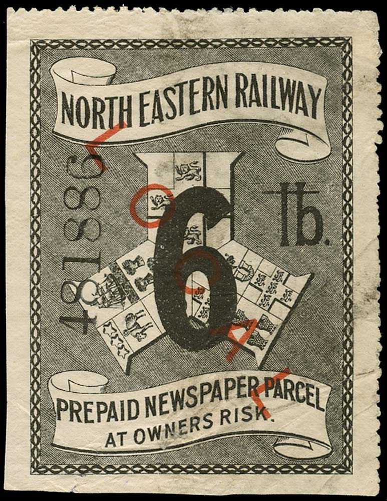 GB 1903 Railway - North Eastern Railway