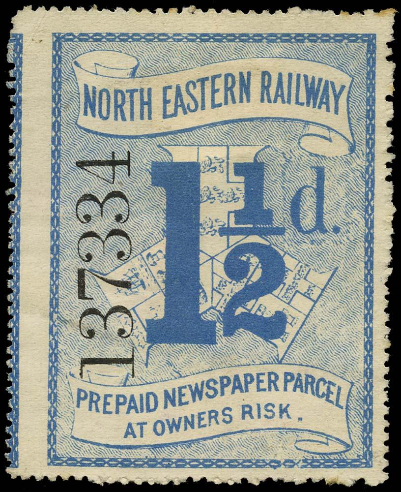 GB 1899 Railway - North Eastern Railway