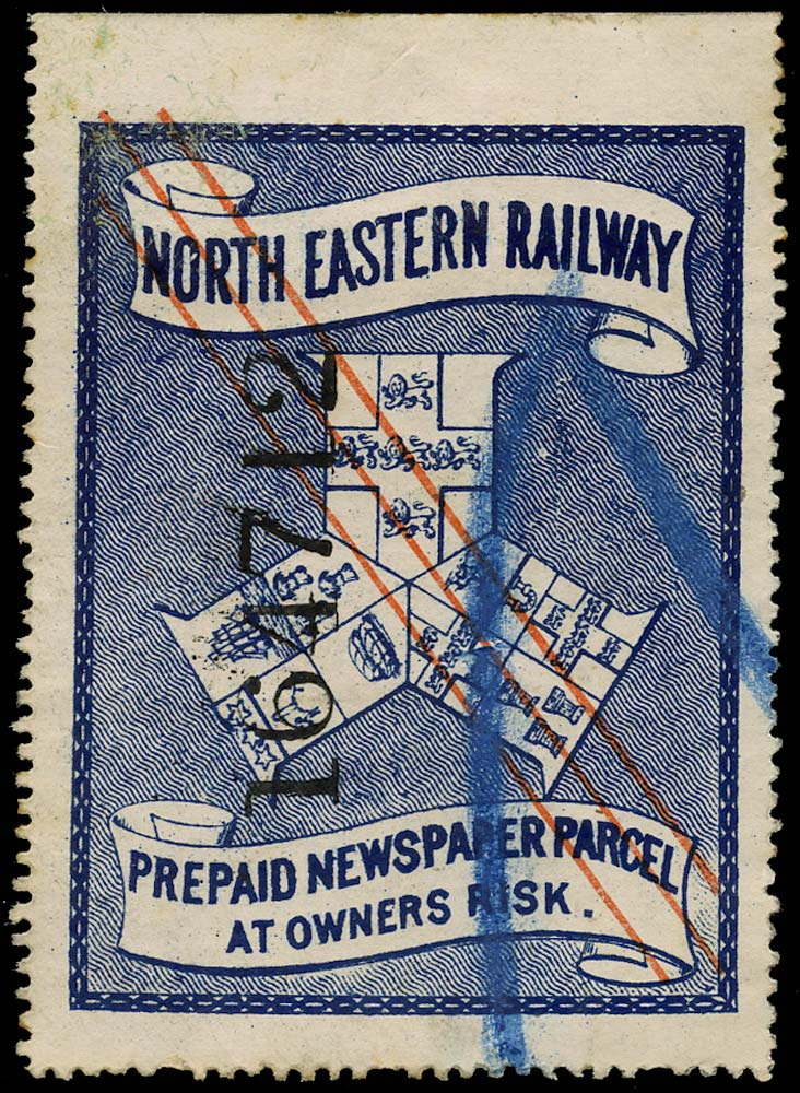 GB 1901 Railway - North Eastern Railway