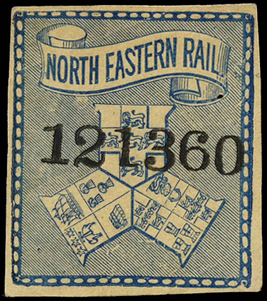 GB 1887 Railway - North Eastern Railway
