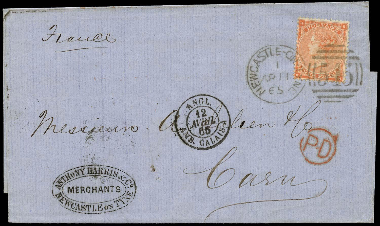 GB 1865  SG82 Pl.4 Cover
