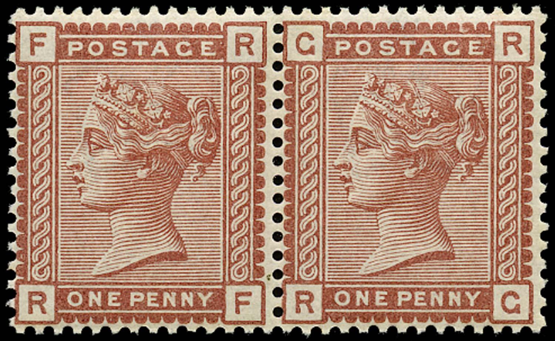 GB 1880  SG166c Pl.12 Mint - Recut 'R' variety