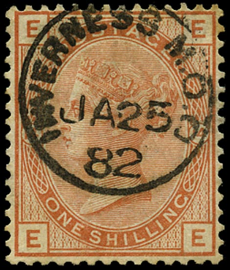 GB 1881  SG163 Pl.14 Used
