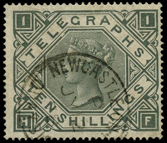 GB 1877  SGT16 Telegraph