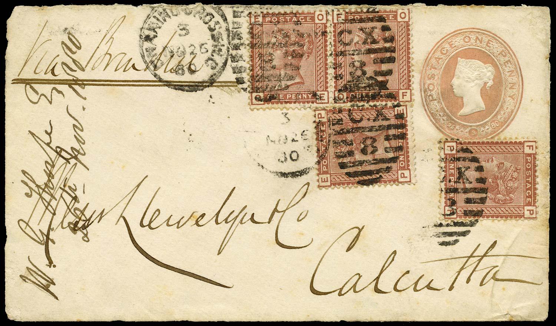 GB 1880  SG166 Cover
