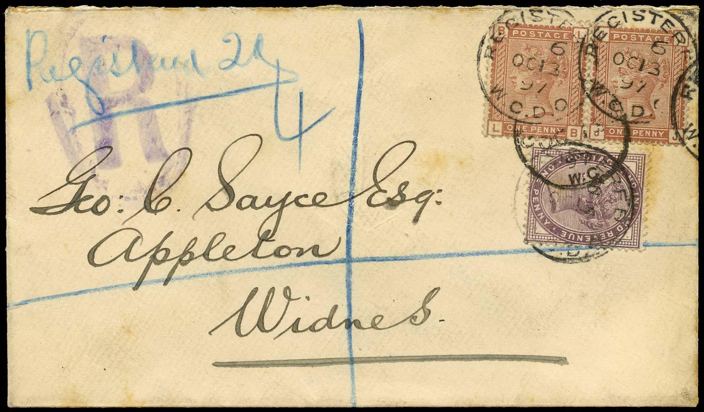 GB 1897  SG166 Cover