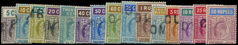 CEYLON 1903  SGT150/64 Telegraph