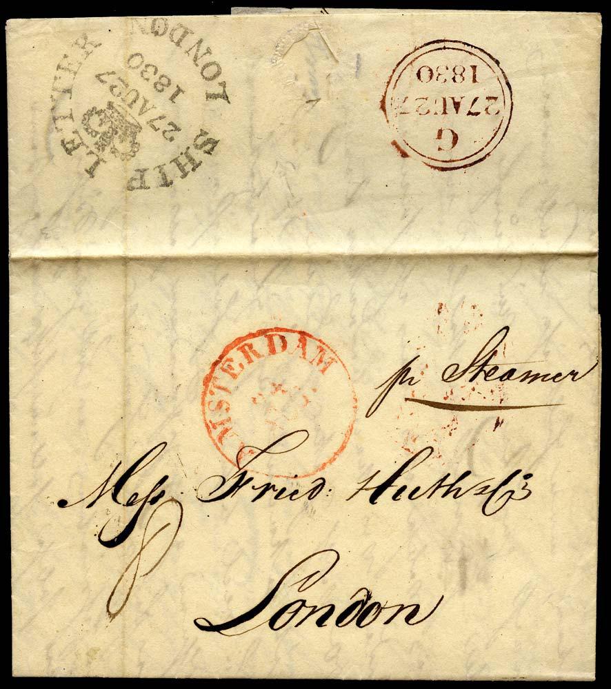 GB 1830 Pre-Stamp