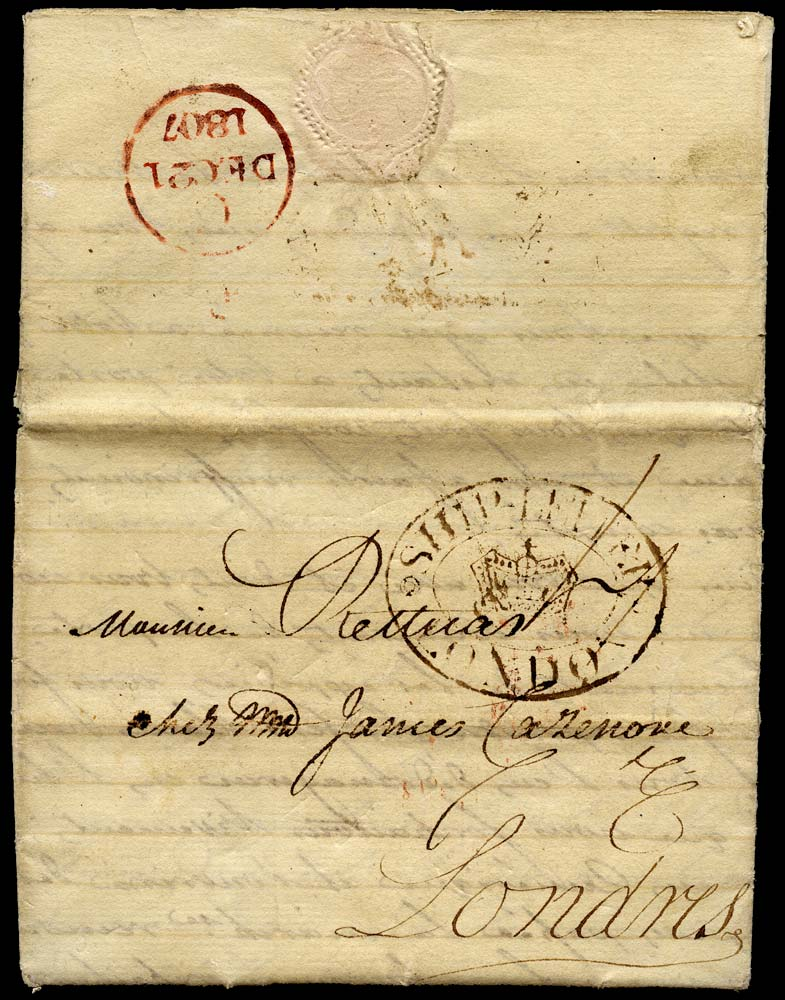 GB 1807 Pre-Stamp
