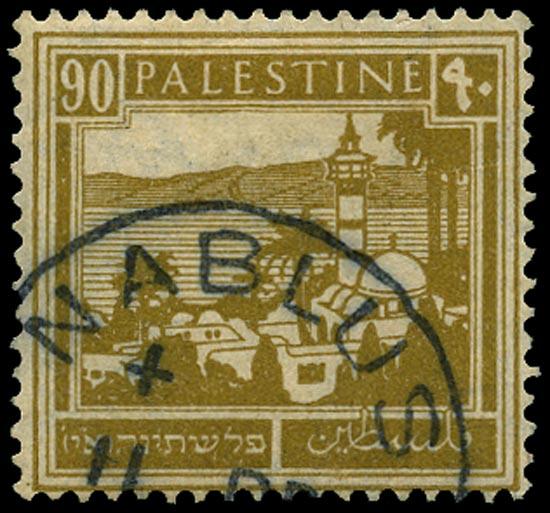PALESTINE 1927  SG101 Used