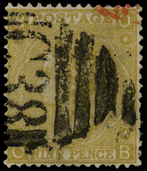 GB 1867  SG110 Pl.4 Used Calloa