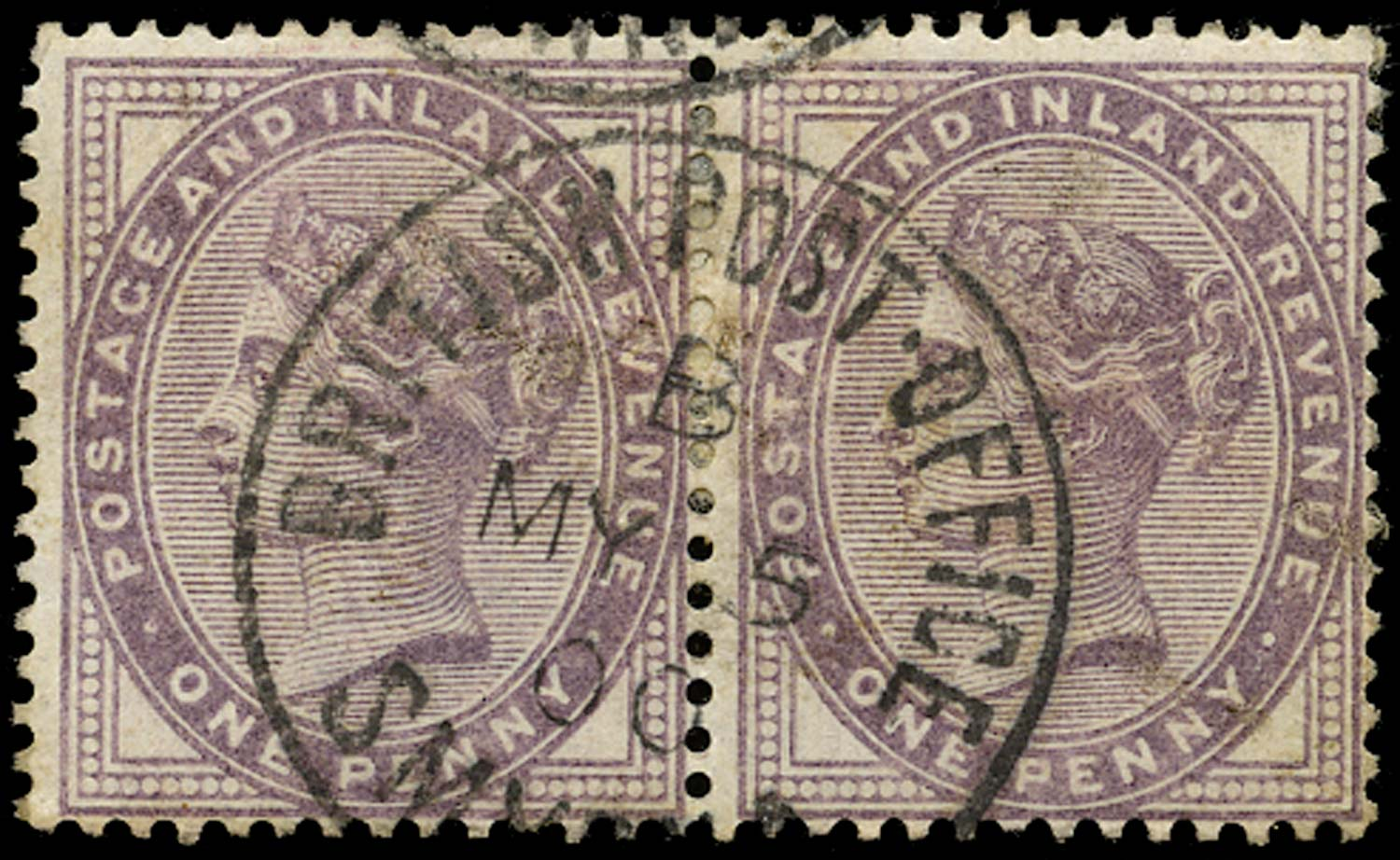 GB 1882  SG172 Used British Post Office Smyrna