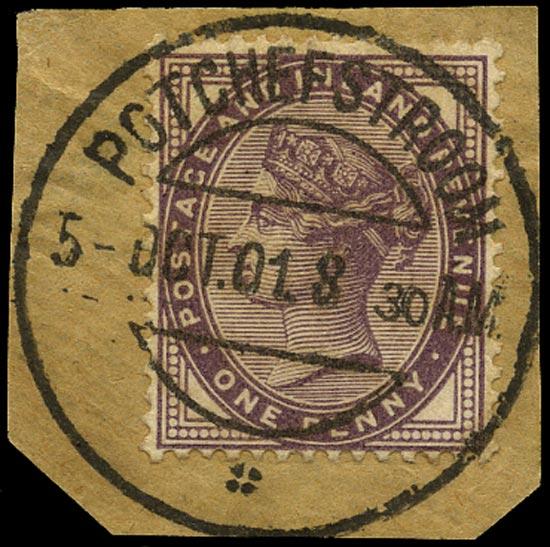 GB 1882  SG172 Used Potchefstroom datestamp