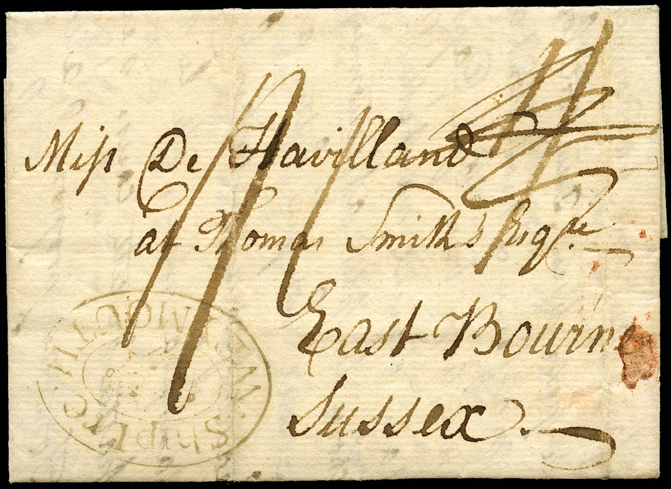 GB 1801 Pre-Stamp