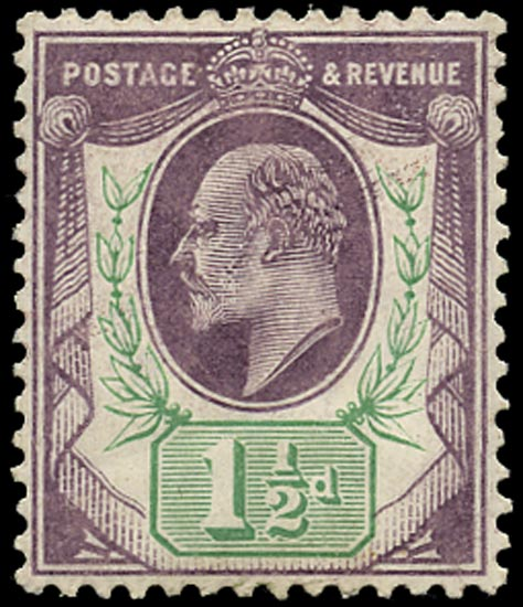 GB 1905  SG223 Mint U/M o.g. example