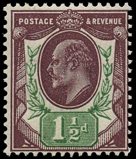 GB 1912  SG288var Mint U/M o.g. example
