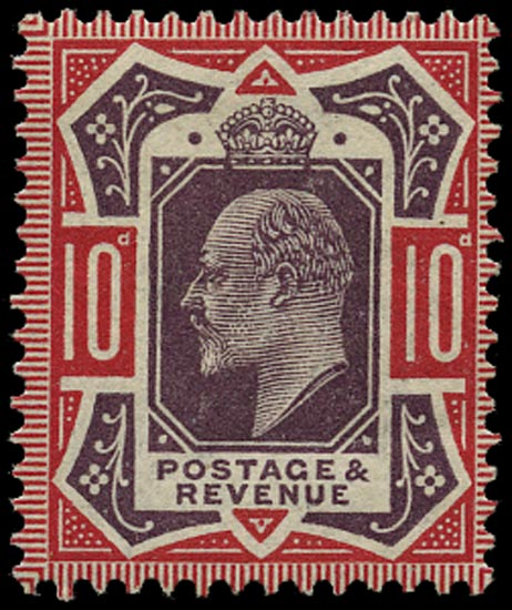 GB 1912  SG311var Mint U/M o.g. example