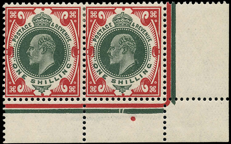 GB 1912  SG314 Mint M/M corner marginal pair