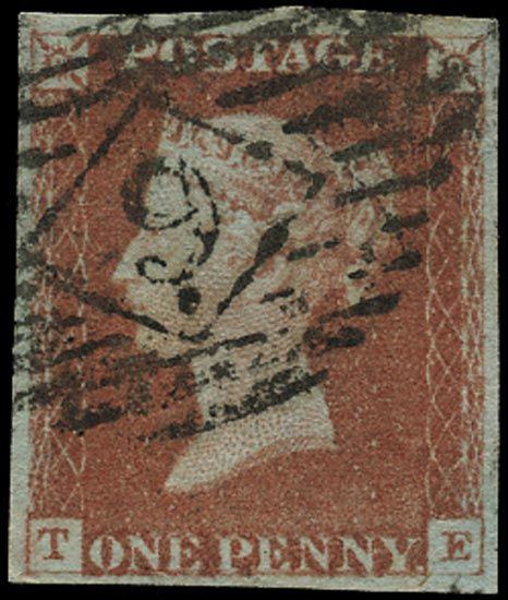 GB 1841  SG8 Pl.61 Used London city numeral