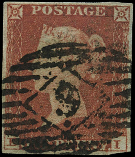 GB 1841  SG8 Pl.77 Used London city numeral