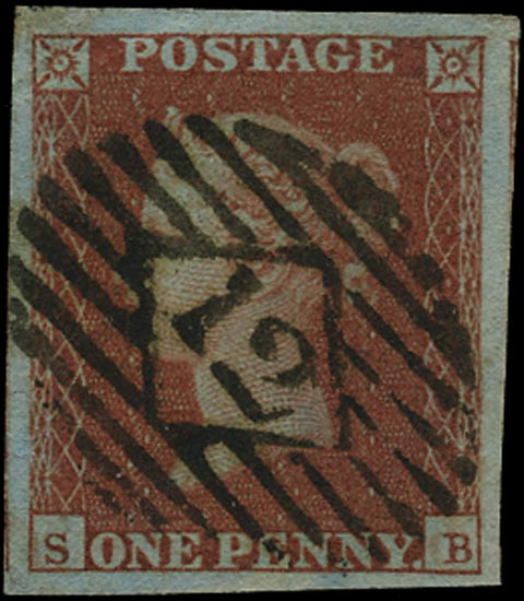 GB 1841  SG8 Pl.110 Used London city numeral
