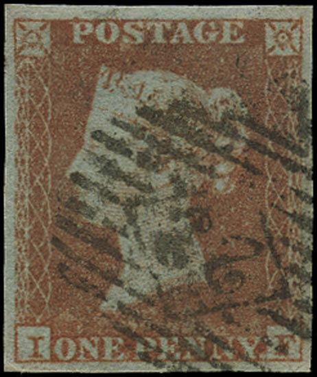 GB 1841  SG8 Pl.146 Used London city numeral