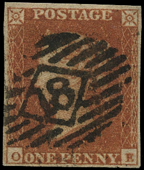 GB 1841  SG8 Pl.130 Used London city numeral