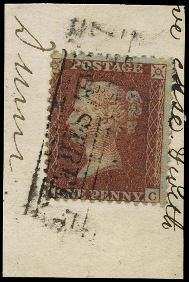GB 1855  SG29var Pl.9 Used