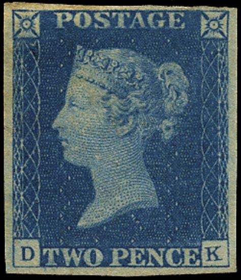 GB 1840  SG5 Pl.2 Mint