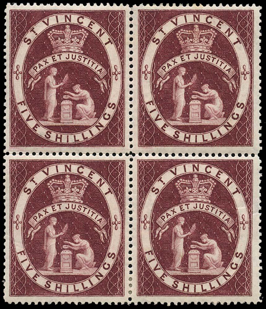ST VINCENT 1885  SG53 Mint
