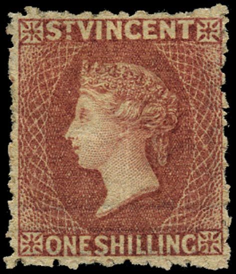 ST VINCENT 1872  SG17 Mint