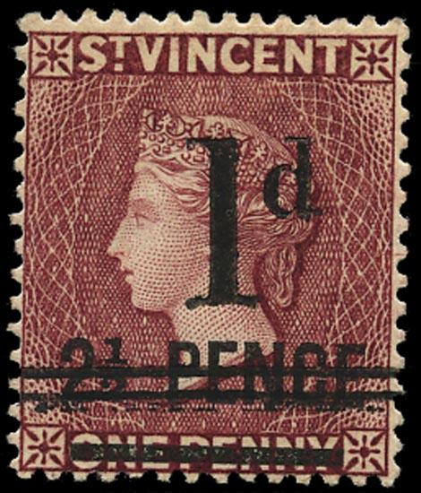ST VINCENT 1885  SG46 Mint
