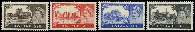GB 1955  SG536/9 Mint