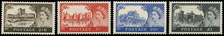 GB 1958  SG536/9a Mint