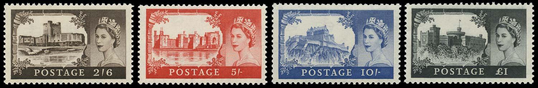 GB 1959  SG595/8 Mint