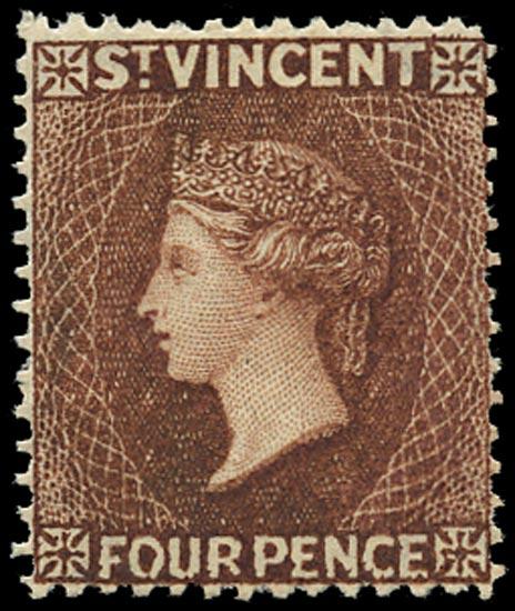 ST VINCENT 1885  SG50 Mint