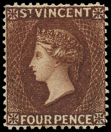 ST VINCENT 1885  SG50 Mint
