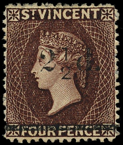 ST VINCENT 1890  SG54 Mint