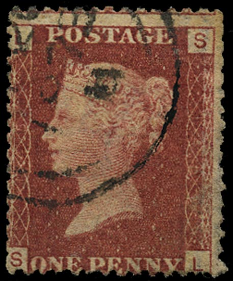 GB 1871  SG43 Pl.145 Used part double ring cds