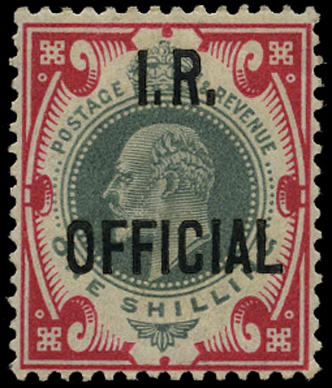 GB 1902  SGO24 Official Unused o.g. example
