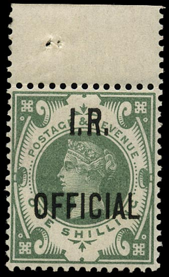 GB 1889  SGO15 Official U/M o.g. example