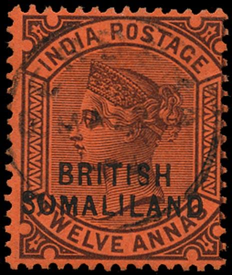 SOMALILAND PROTECT 1903  SG20b Used 'SUMALILAND Variety'